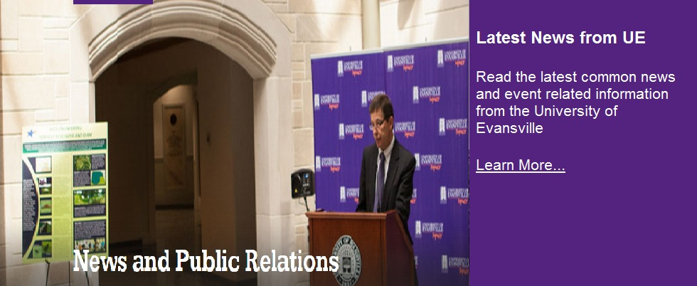 News and Public Relations from UE
