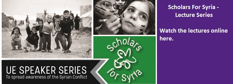 Scholars For Syria - Lecture Series